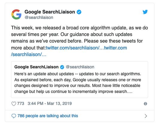 google algorithme