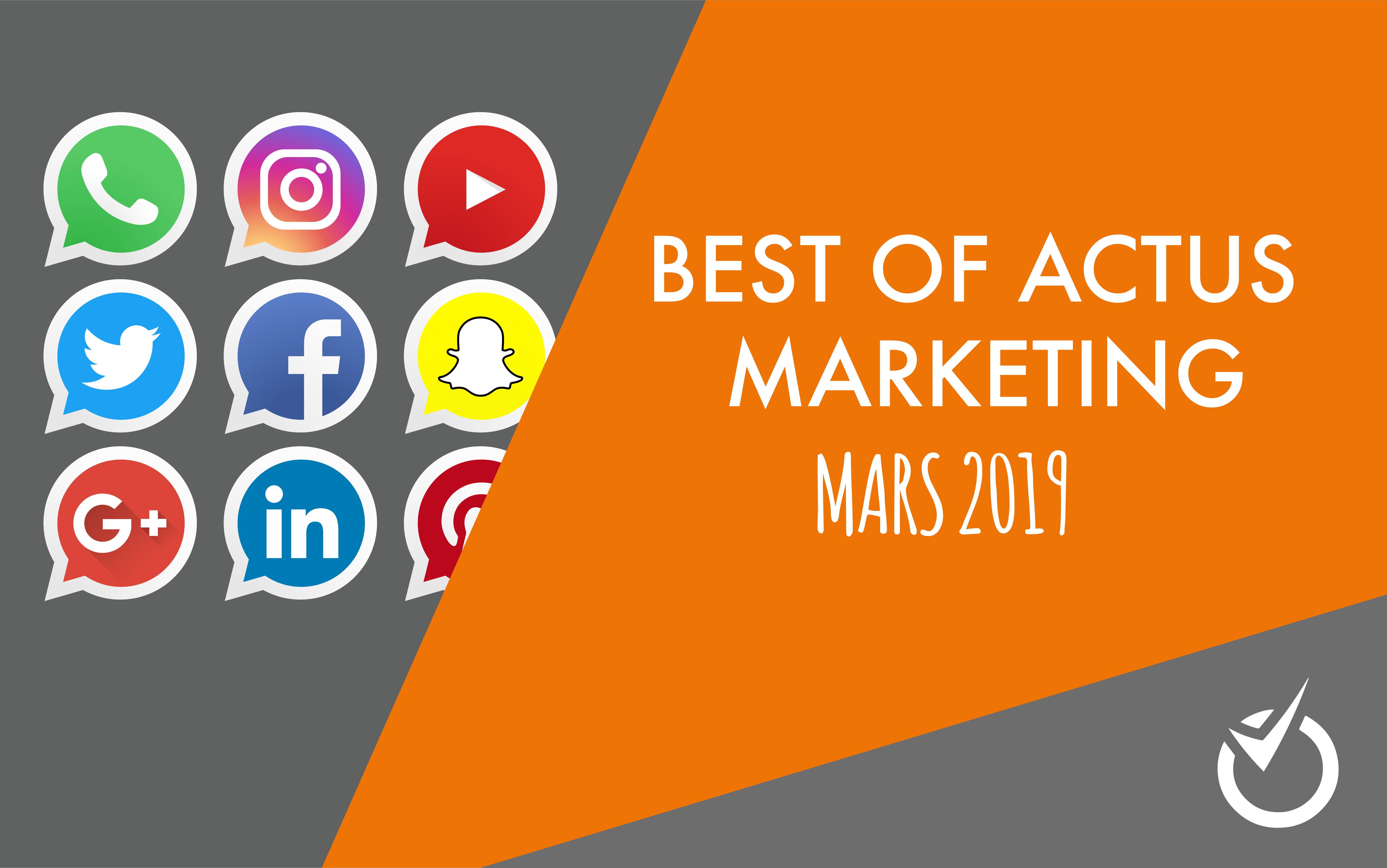 actu web marketing mars