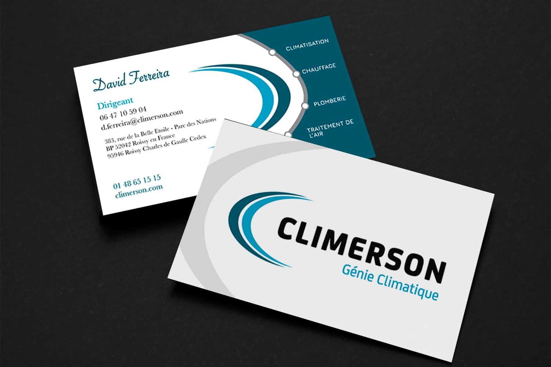 Climerson - Carte de visite