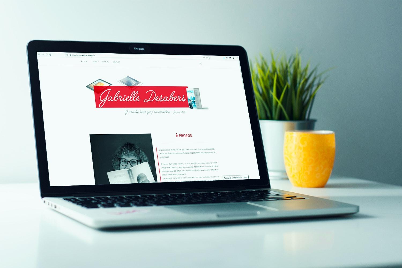 Gabrielle Desabers - Site web