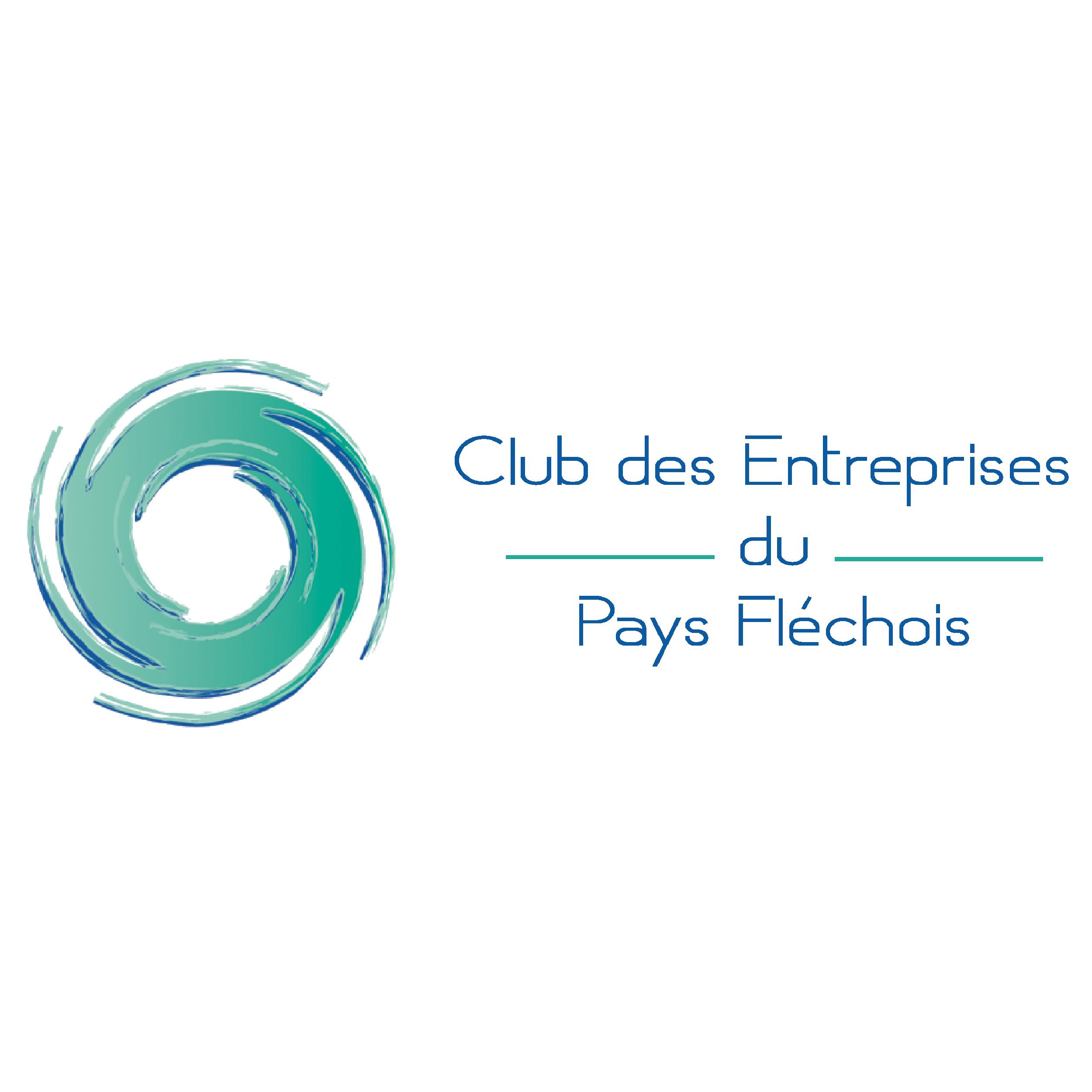 logo club des entreprises du pays flechois1