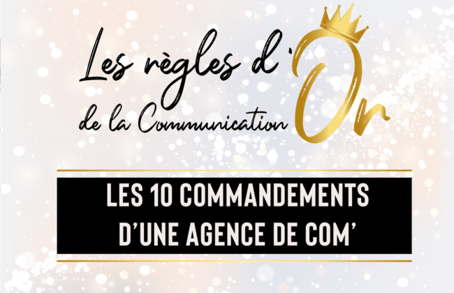 regle or de la communication agence de communication cabinet ace angers